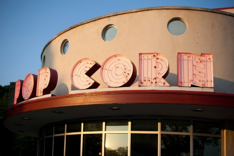 Popcorn Gallery Marquee, Evening