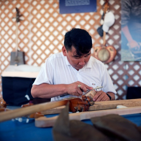 Tuvan Instrument Maker