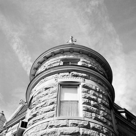 Stone Turret, 11th Street