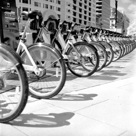 Capital Bikeshare - Konica Infrared