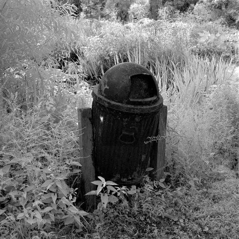Trashcan, Kenilworth Gardens