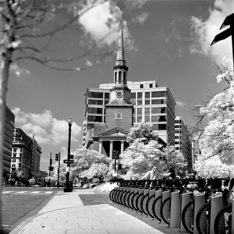 New York Avenue Baptist - Konica Infrared