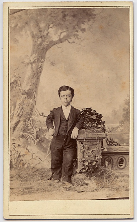 Anonymous CDV of Anonymous Little Man