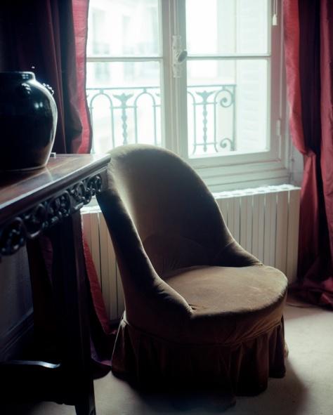 Chair, Dining Room Window