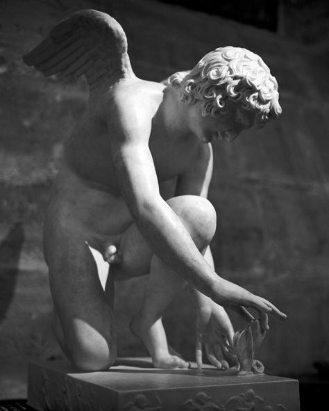 Cupid, Butterfly, Louvre