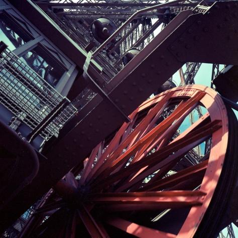 Elevator Wheels, Looking Up