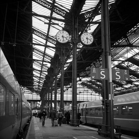 Clocks, Platform, Gare D' Lyon