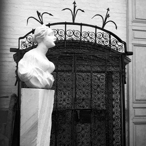 Marble Lady, Versailles