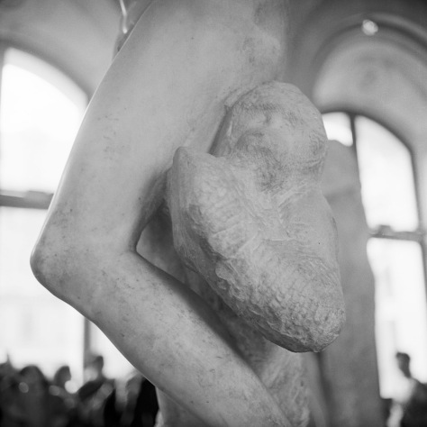 "Michelangelo, ""Unfinished"" figure"