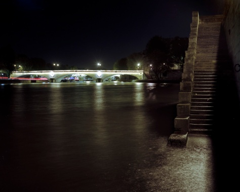 Pont Louis Phillippe, Steps, Night