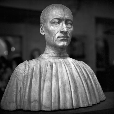 Renaissance Bust, Louvre