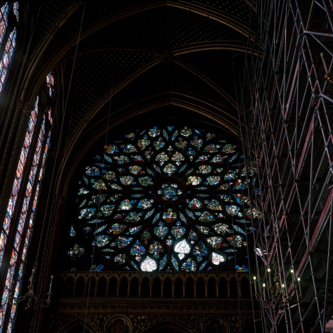 Rose Window, Ste. Chapelle