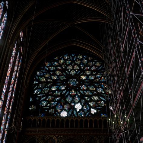 Rose Window, Ste. Chapelle