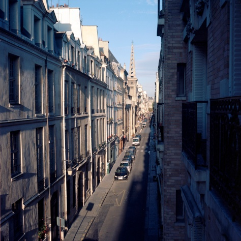 Rue St. Louis in the Sun