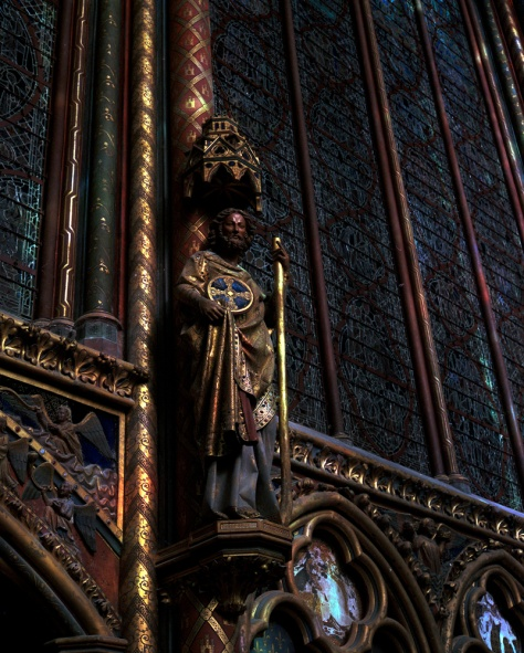 Saint Statue, Ste. Chapelle