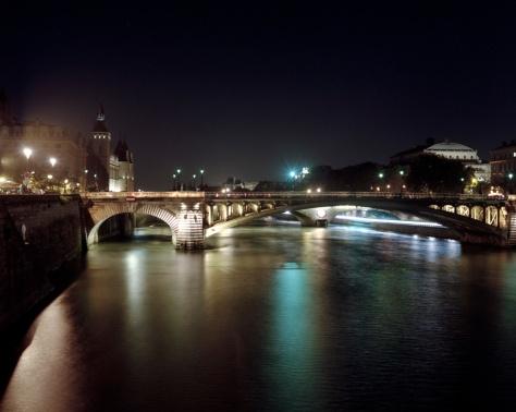 Seine Bridges, La Monnaie, Night
