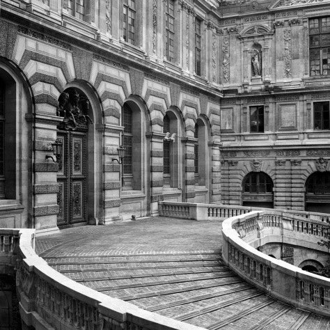 Courtyard, Louvre