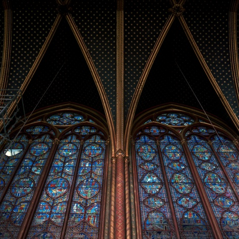Side Windows, Ste. Chapelle