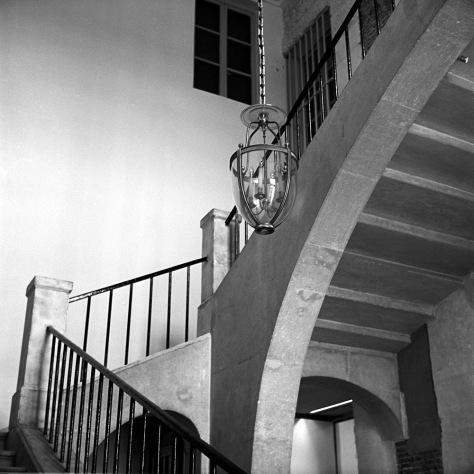Stairs, Chandelier, Versailles