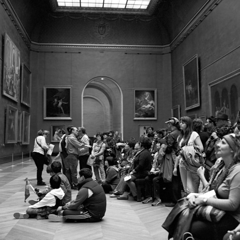 Visitors, Napoleon crowns Josephine