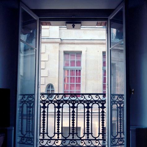Window, Number 6, Rue St Louis en L'Ile