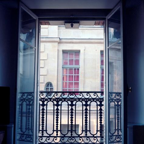 Window, Number 6, Rue St Louis en L'Ile