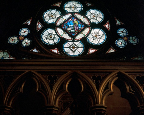 Window, Lower Level, Ste. Chapelle