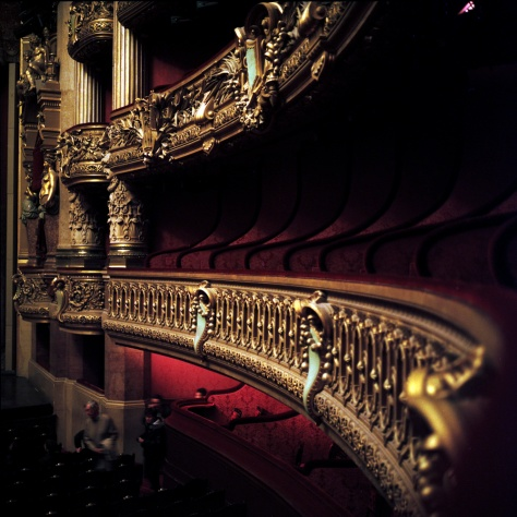 Box Seats, Opera Garnier Auditorium