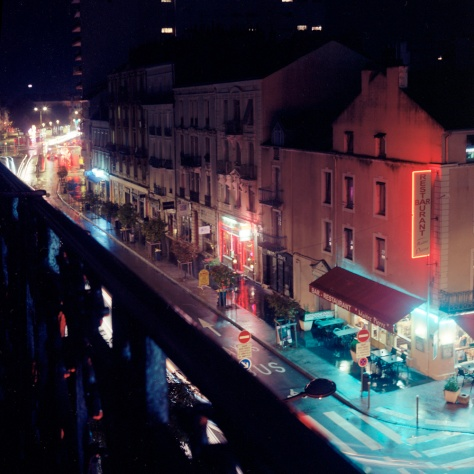 Avenue Jean Jaures, Night