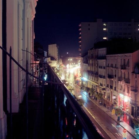 Avenue Jean Jaures, St. Georges Hotel, Night