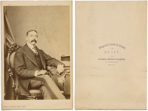 Anonymous Gentleman, Imperial CDV by Brady