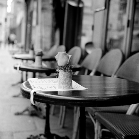 Cafe Tables, Pompidou Centre