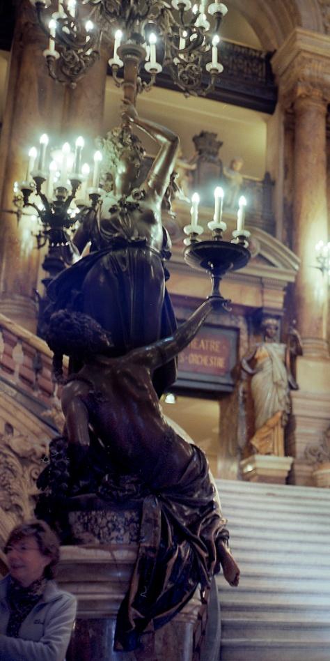 Candelabra, Stairs, Opera Garnier