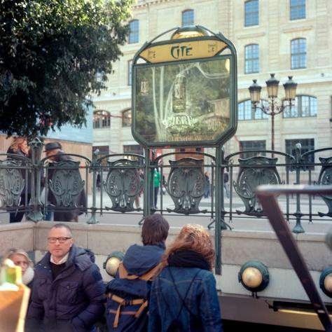 Cité Metro Entrance
