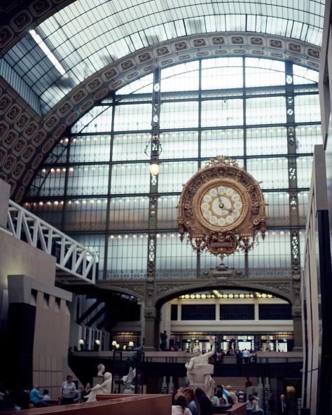 Clock Hall, Musee D'Orsay