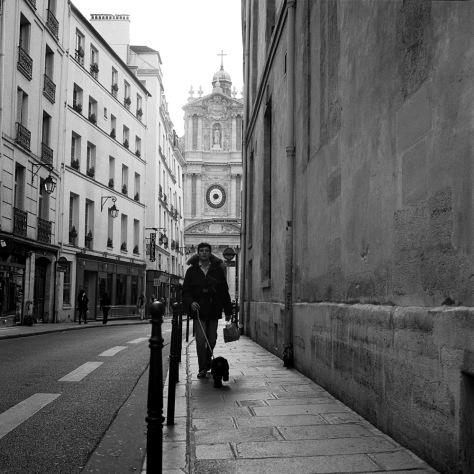 Dog Walker, Rue Sevigne, Le Marais