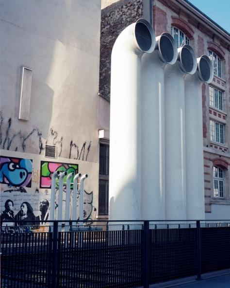 Exhaust Stacks, Pompidou Centre