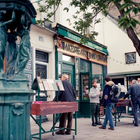 Shakespeare & Co. Bookstore