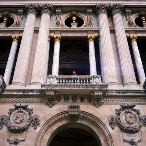 Front Balcony, Opera Garnier