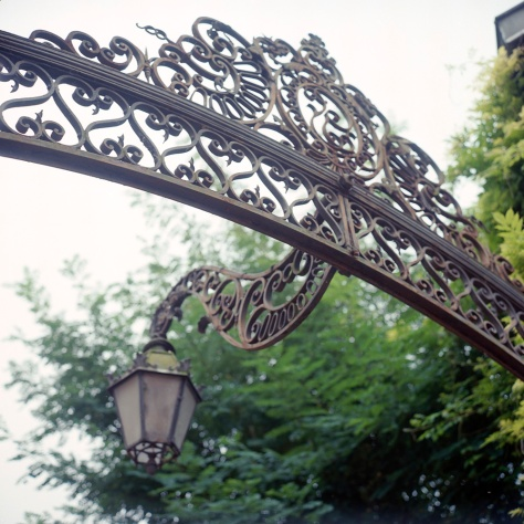Lamp, Iron Gate, Chalon