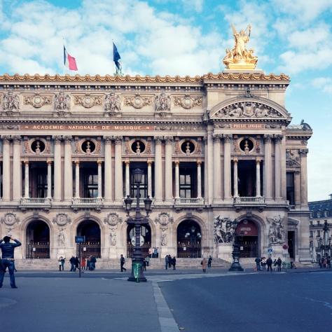 Facade, Opera Garnier