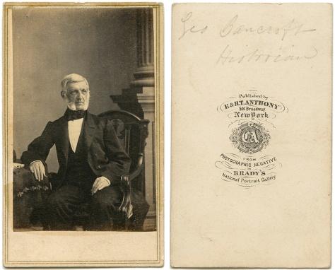 George Bancroft, by Brady