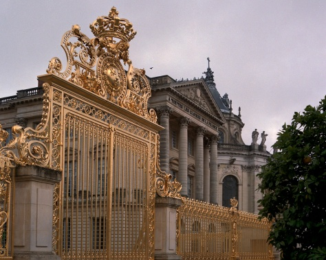 Gilded Gates, Versailles