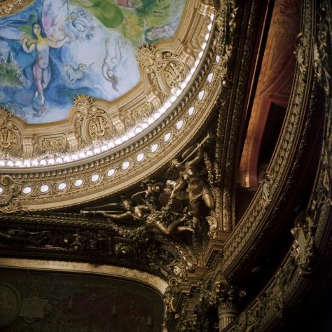 Giltwork, Ceiling, Opera Garnier