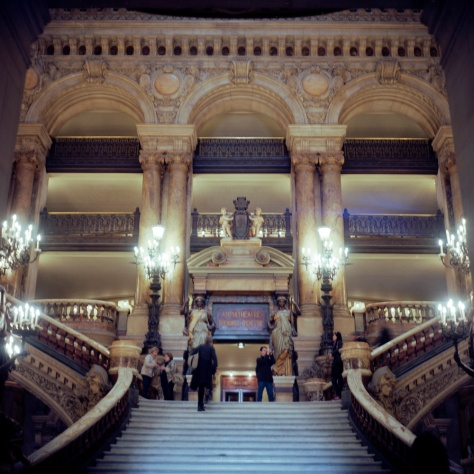 Grand Stair Hall, Opera Garnier
