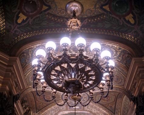Hall Chandelier, Opera Garnier
