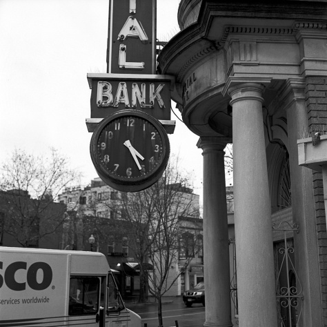 Clock, Industrial Bank
