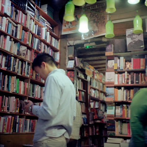 Interior, Shakespeare & Co. Bookstore