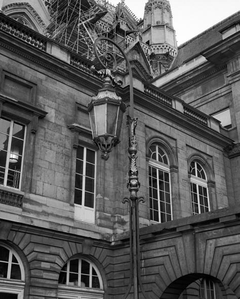 Lantern, Courtyard, Palais de Justice