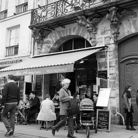 Les Chimeres Restaurant, Marais